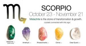 scorpio birthstone color crystals for scorpios mind and