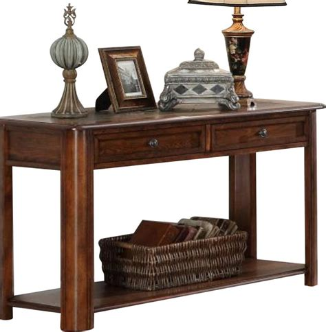 household essentials faux slate sofa table slate sofa table rectangular teak and slate table by