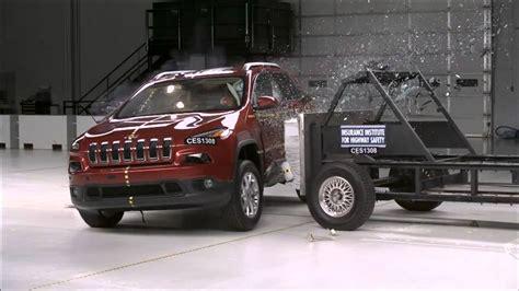 Jeep Grand Crash Test 2014 Jeep Side Iihs Crash Test
