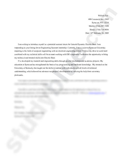 cover letter sle docx electric boat cover letter docx information sciences and