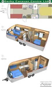 caravan floor plans caravans one day