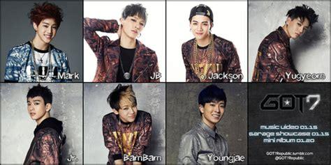 Bantal Kpop Got7 All Member got7 names got7 got7 kpop and kdrama