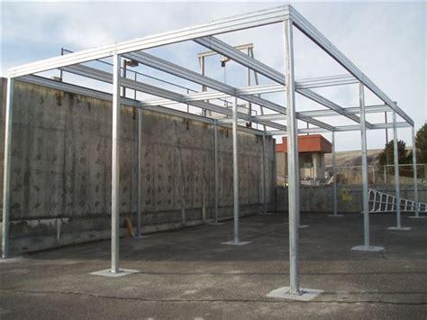 Steel Frame Carport Canopy Shade Canopy Steel Frame Absolute Steel