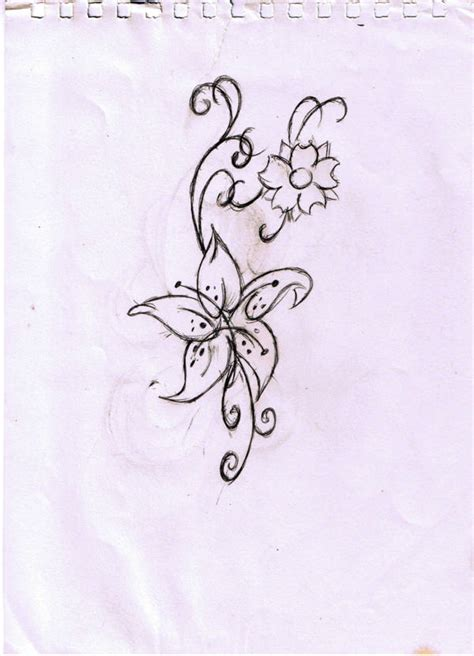 tattoo tribal fleur tatouage fleur my cms