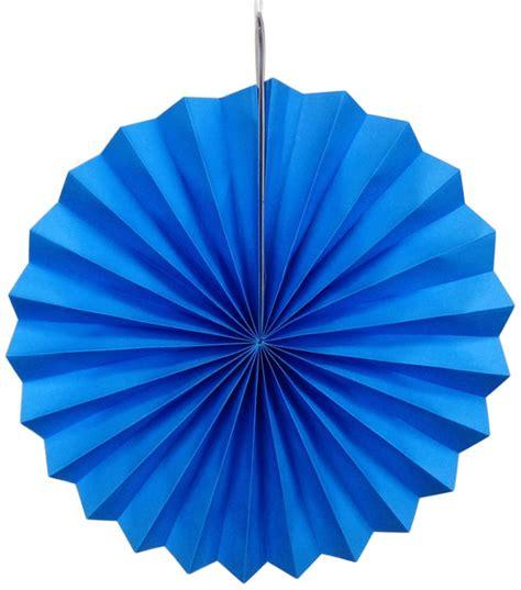 Paper Pinwheels - paper pinwheel decoration 16inch blue