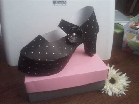 How To Make A Paper High Heel Shoe - 50 best paper shoes images on