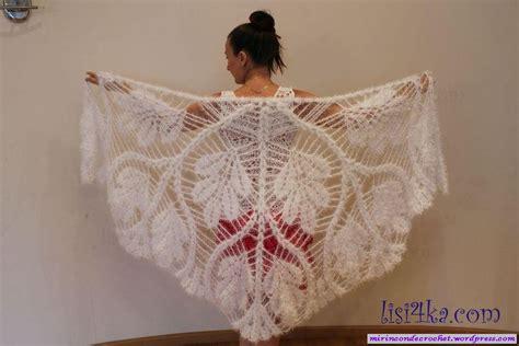 rincon de tejido incre 237 ble chal mi rincon de crochet