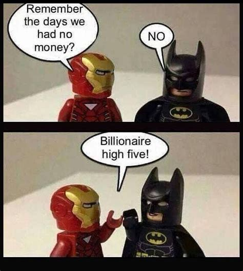 Funny Lego Memes - life is tough teamironman batman fandoms geek