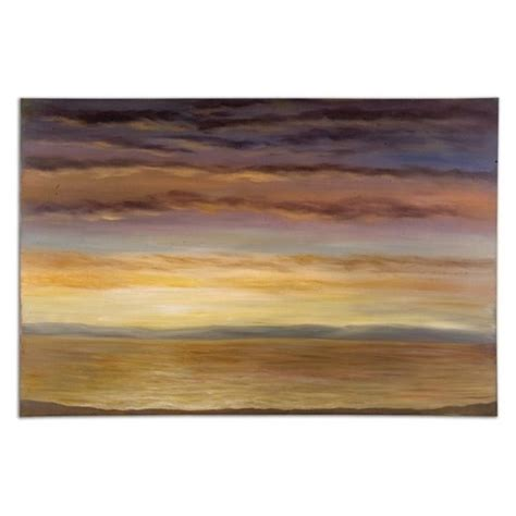 Uttermost Canvas Wall Uttermost Spacious Skies Painted Frameless Canvas