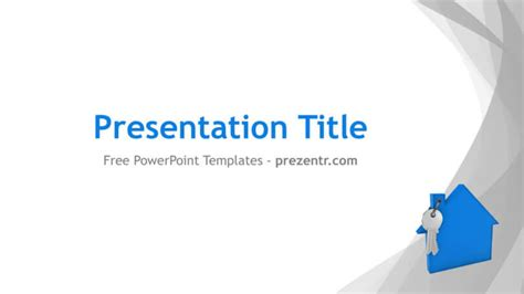 free mortgage powerpoint template prezentr ppt templates
