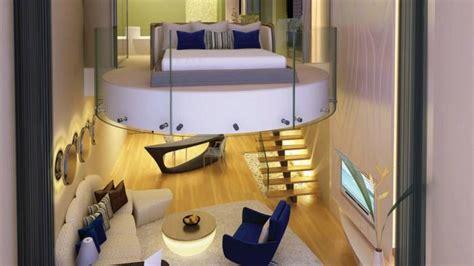 camere da letto soppalcate vetro ladari disegno