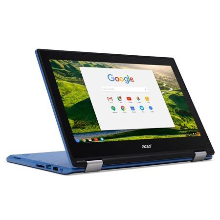 acer chromebook r11 cb5 132t c67q touch screen chromebook with intel celeron n3060 processor 11