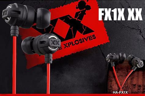 Langsdom Stereo Bass Earphone Dengan Mic Jv23 Berkualitas xplosives bass earphones ha fx1x