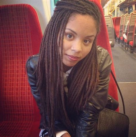 faux yarn dreads on natural hair 37 best fake dreads images on pinterest braids hair