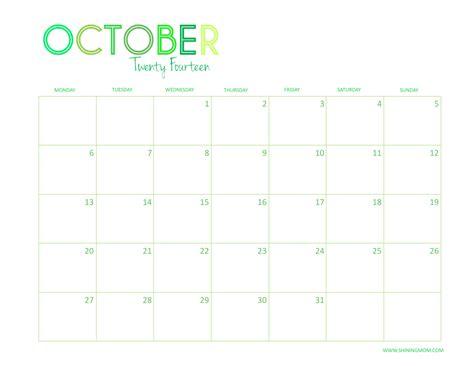 printable calendar 2014 october november december free printable 2014 desktop calendar