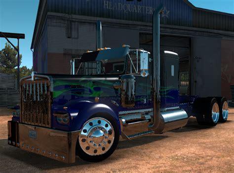 kenworth custom parts kenworth w900a custom truck truck simulator mod
