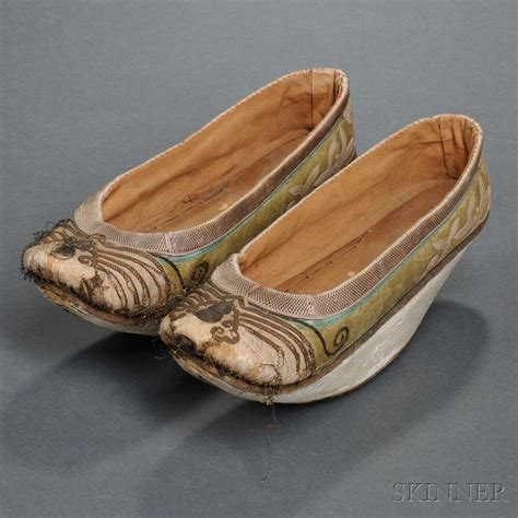skinners shoes pair of manchu style platform shoes sale number 2695t