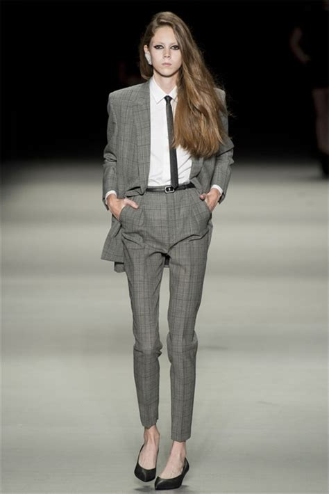 Mannish Chic At Fashion Week by Must Pe 2014 Tailleur Vogue It