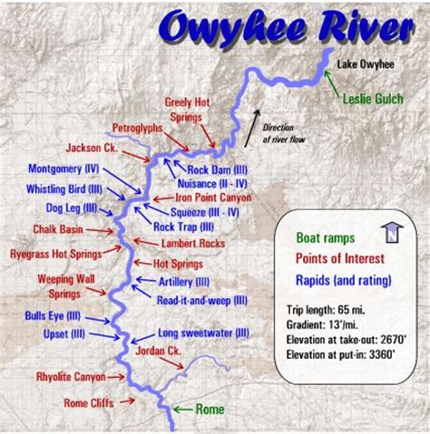 owyhee canyonlands map great fishing in a place you can t pronounce the owyhee