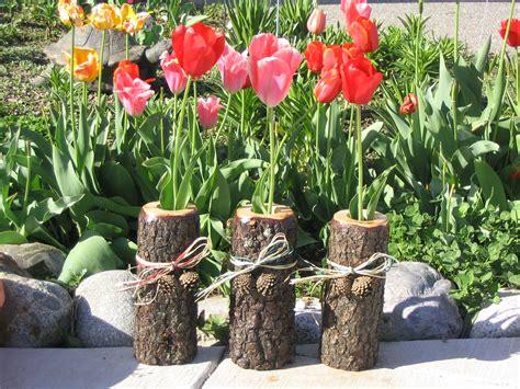 Wood Log Vases by Log Shelves Log Furniture Burnings Wildlife Wood Burnings