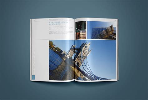 leaflet design in london luxury property brochure for london apartments luxury