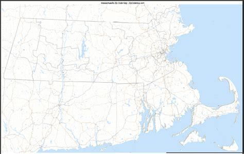 zip code map massachusetts massachusetts zip code map massachusettes mappery