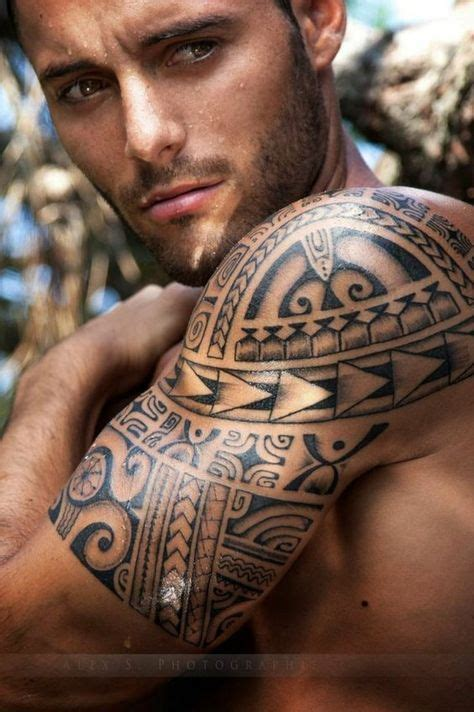 Motive Tribal Oberarm by Tribal Motiv Maori Oberarm M 228 Nner T 228 Towierung