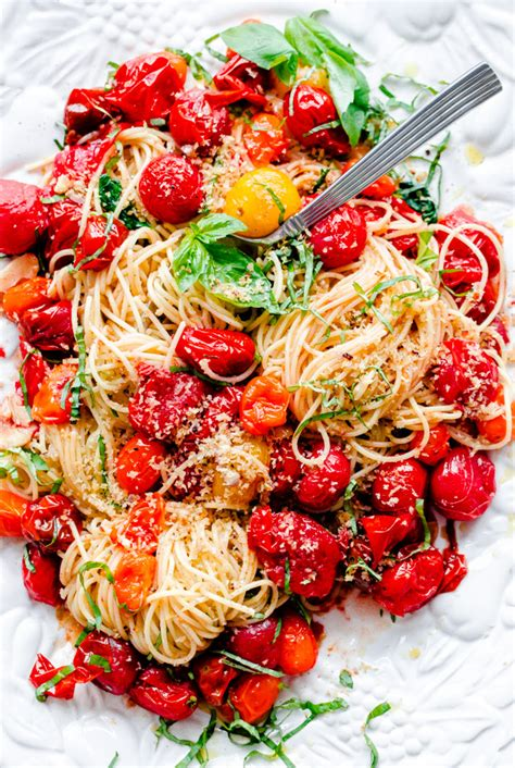 spaghettini with oil and garlic recipe lidia bastianich how to make toasted bread crumbs