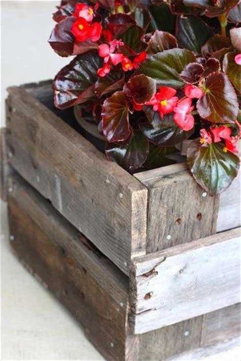 Planter Box Ideas by Diy Pallet Planter Box Ideas Pallets Designs