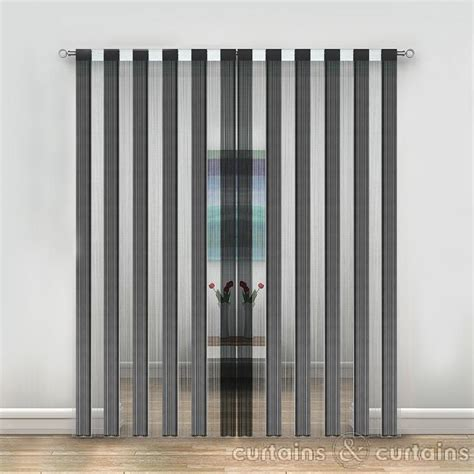 black and white drapery panels black and white string curtain panels string curtains uk
