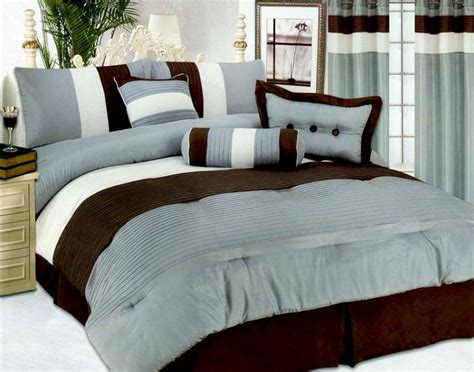 aqua queen comforter set new modern satin bedding comforter set queen aqua brown ebay
