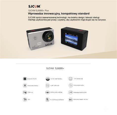 Kamera Sjcam 5000 Plus kamera sportowa sjcam sj5000 plus