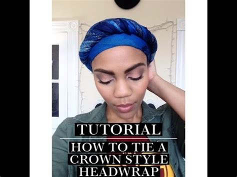 www hadtowrapshorthair how to tie a head wrap turban for short natural hair youtube
