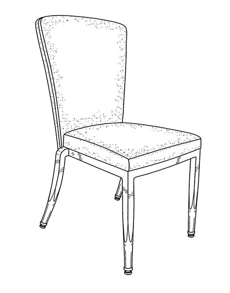 stuhl zeichnung patent usd672981 stacking chair patents