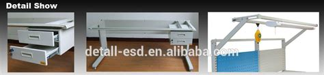electronic bench warrant hot sell laboratory furniture stainless steel dental lab