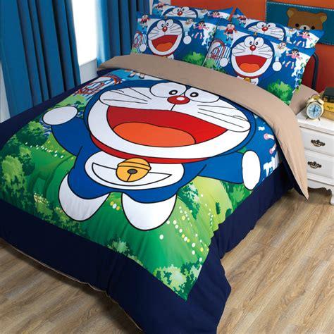Set Bed Cover Doraemon Murah 1 popular doraemon bed sheets buy cheap doraemon bed sheets