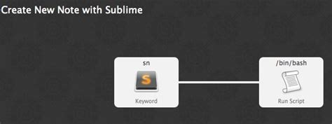 sublime workflow notes with sublime text