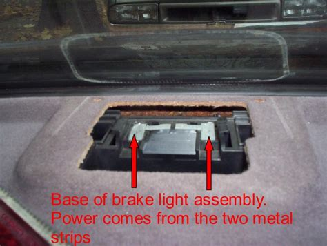 How To Fix Brake Lights by Third Brake Light Repair On 97 Mbworld Org Forums