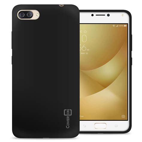 black for asus zenfone 4 max 5 5 quot zc554kl max pro tpu cover ebay