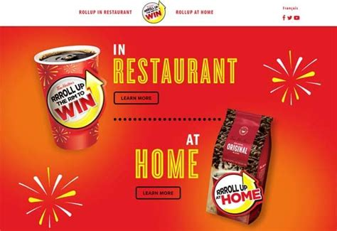 Tim Hortons Sweepstakes - tim hortons rolluptherimtowin com contest rrroll up the rim sweepstakes pit