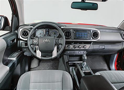 Toyota Tacoma Interior by 2016 Toyota Tacoma Review Consumer Reports