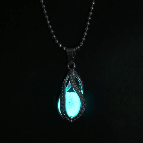 how to make glow in the jewelry mermaid s waterdrop glow in the pendant