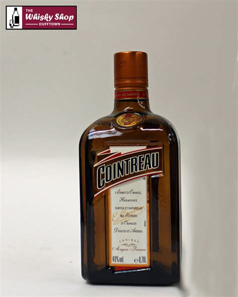 Shelf Of Cointreau by Cointreau The Whisky Shop Dufftown