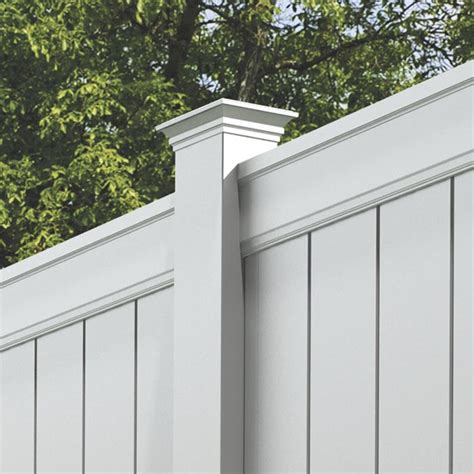 install l post concrete install a vinyl fence