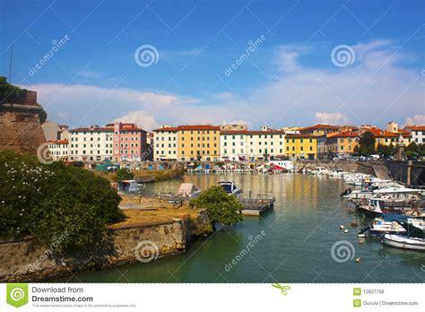 leghorn port port of livorno royalty free stock image image 12627756