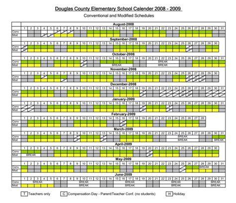Douglas County School District Calendar Douglas County Co Schools Year Calendar Track System