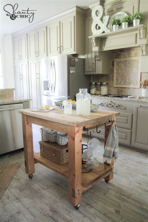 rolling kitchen island plans diy kitchen island free plans
