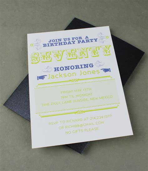 70th birthday invitation templates 70th birthday invitation template print