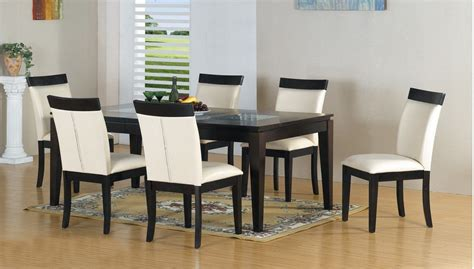 Round Dining Room Sets modern black and white dining set insurserviceonline com