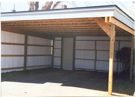 A Carport Building A Custom Carport